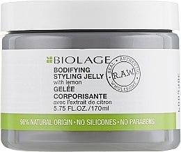 Voňavky, Parfémy, kozmetika Stylingové želé pre objem vlasov - Matrix Biolage R.A.W. Bodifyng Styling Jelly