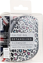 Voňavky, Parfémy, kozmetika Kefa na vlasy - Tangle Teezer Compact Styler Punk Leopard