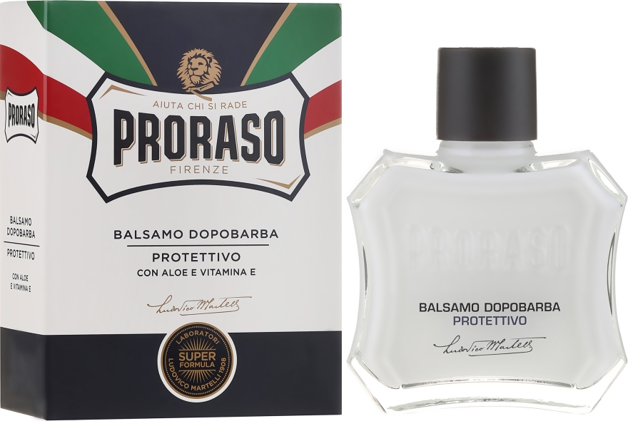 Balzam po holení s aloe a vitamínom E - Proraso Blue Line After Shave Balm Super Formula
