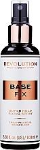 Voňavky, Parfémy, kozmetika Makeup fixer - Makeup Revolution Base Fix Super Hold Fixing Spray