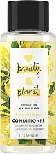 """Voňavky, Parfémy, kozmetika Kondicionér na vlasy """"Regenerácia a starostlivosť"""" - Love Beauty And Planet Coconut Oil & Ylang Ylang Conditioner"""