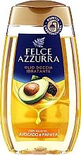 """Voňavky, Parfémy, kozmetika Sprchový olej """"Avokádo a papája"""" - Felce Azzurra Shower Oil"""