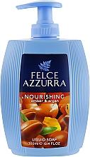 Voňavky, Parfémy, kozmetika Tekuté mydlo - Felce Azzurra Nutriente Amber & Argan