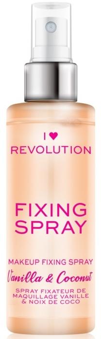 Sprej na fixáciu líčenia - I Heart Revolution Fixing Spray Vanilla & Coconut