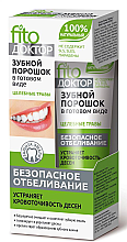 """Voňavky, Parfémy, kozmetika Zubný prášok v hotovej forme """"Fytodoktor. Liečivé byliny"""" - Fito Kozmetic"""