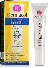 Voňavky, Parfémy, kozmetika Gél na viečka proti tmavým kruhom pod očami - Dermacol Eye Gold Gel