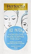 Voňavky, Parfémy, kozmetika Hydrogélové náplasti pod oči - DAX Perfecta Ice Eye Patch