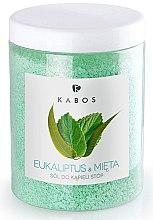 Voňavky, Parfémy, kozmetika Soľ do kúpeľa na nohy - Kabos Eucalyptus & Mint Foot Bath Salt