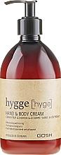 Voňavky, Parfémy, kozmetika Krém na ruky a telo - Gosh Hygge Hand and Body Cream