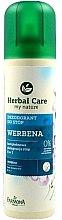 """Voňavky, Parfémy, kozmetika Deodorant pre nohy """"Verbeny"""" - Farmona Herbal Care"""