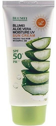 Krém na tvár a telo - Blumei Jeju Moisture Aloe Vera Sun Cream