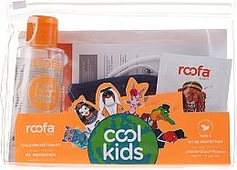 Voňavky, Parfémy, kozmetika Sada - Roofa Cool Kids (h/gel/100ml + gel/shm/3g + blue/mask/1pcs)