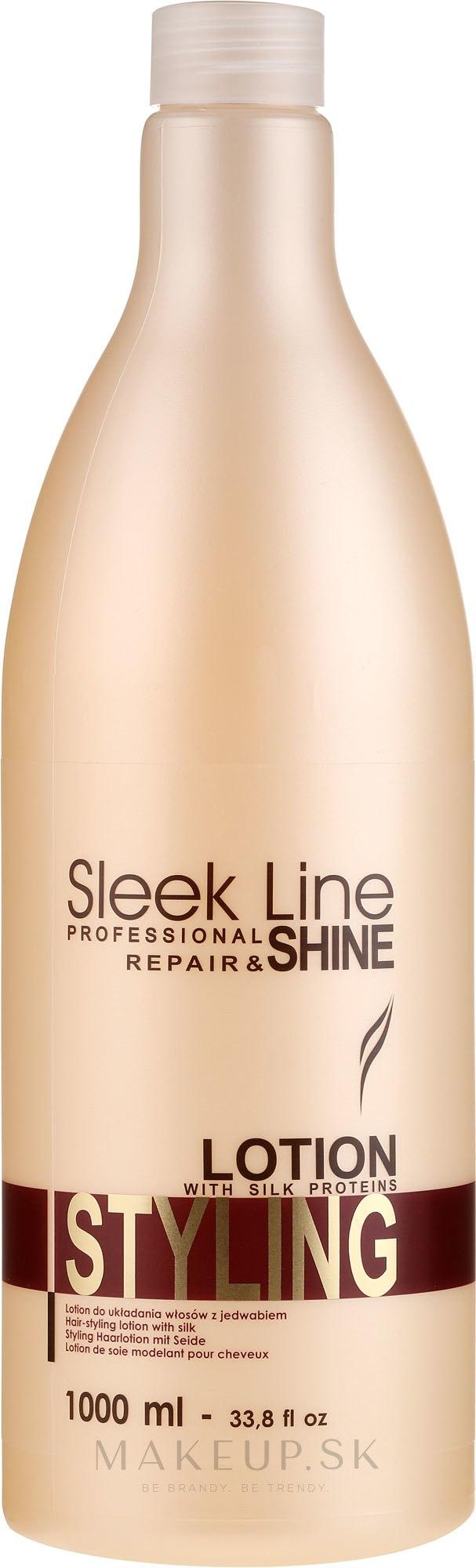 Lotion-hodváb pre úpravu vlasov - Stapiz Sleek Line Styling Lotion — Obrázky 1000 ml