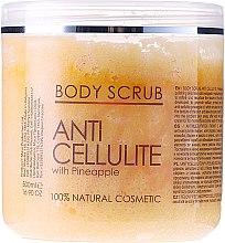 Voňavky, Parfémy, kozmetika Telový peeling - Hristina Cosmetics Sezmar Professional Body Scrub Anti Cellulite With Pineapple