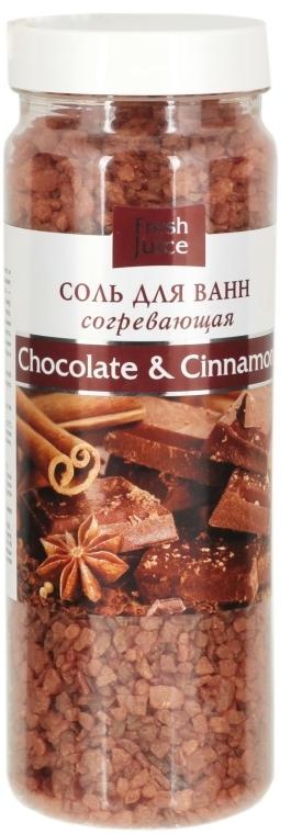 Soľ do kúpeľa - Fresh Juice Chocolate & Cinnamon