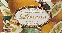 "Voňavky, Parfémy, kozmetika Toaletné mydlo ""Citrón"" - Saponificio Artigianale Fiorentino Lemon"
