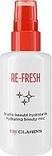 Voňavky, Parfémy, kozmetika Osviežujúca hmla na tvár - Clarins My Clarins Re-Fresh Hydrating Beauty Mist