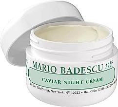 Voňavky, Parfémy, kozmetika Nočný krém na tvár s kaviárom - Mario Badescu Caviar Night Cream