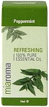 """Voňavky, Parfémy, kozmetika Éterický olej """"Mäta pieporná"""" - Holland & Barrett Miaroma Peppermint Pure Essential Oil"""