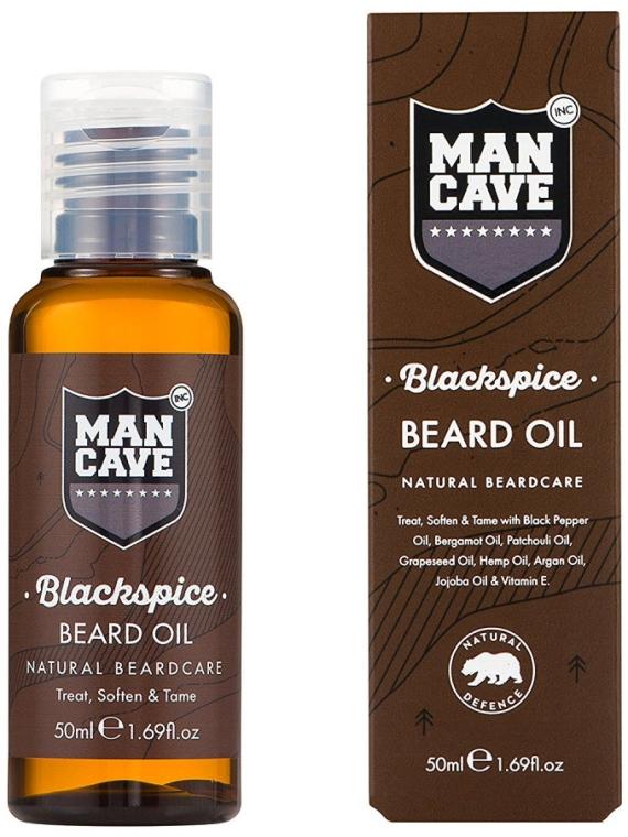 Olej pre bradu - Man Cave Blackspice Beard Oil — Obrázky N1