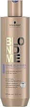 Voňavky, Parfémy, kozmetika Neutralizačný šampón na vlasy pre studené odtiene blond - Schwarzkopf Professional BlondMe Cool Blondes Neutralizing Shampoo