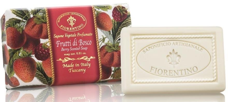 """Prírodné mydlo """"Bobule"""" - Saponificio Artigianale Fiorentino Berry Scented Soap"""