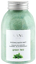 """Voňavky, Parfémy, kozmetika Šumivá soľ do kúpeľa """"Zelený čaj"""" - Kanu Nature Green Tea Fizzing Bath Salt"""