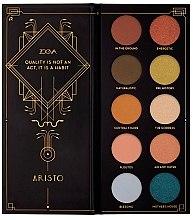 Voňavky, Parfémy, kozmetika Paleta očných tieňov - Zoeva Aristo Eyeshadow Palette