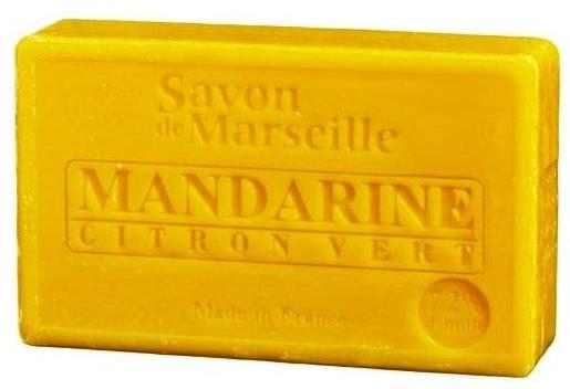 """Prírodné mydlo """"Mandarínka a limetka"""" - Le Chatelard 1802 Soap Mandarin & Lime — Obrázky N1"""