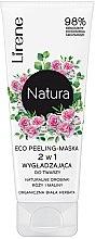 Voňavky, Parfémy, kozmetika Peelingová maska na tvár - Lirene Natura Eco Peeling-Mask