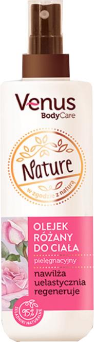 Ružový olej na telo - Venus Nature Rose Body Oil