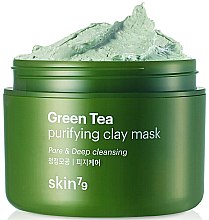 Voňavky, Parfémy, kozmetika Tvárová maska s hlinou a zeleným čajom - Skin79 Green Tea Purifying Clay Mask