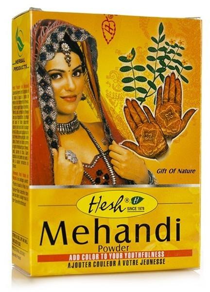Henna-prášok na vlasy - Hesh Mehandi Powder