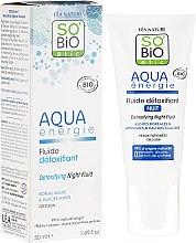 Voňavky, Parfémy, kozmetika Nočný fluid na tvár - So'Bio Etic Aqua Energie Detoxifying Fluid Night