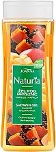 """Voňavky, Parfémy, kozmetika Sprchový gél """"Mango a papája"""" - Joanna Naturia Mango and Papaya Shower Gel"""