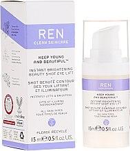 Voňavky, Parfémy, kozmetika Liftingový krémový gél pre kontúry očí s efektom žiarenia - Ren Keep Young And Beautiful