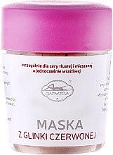 Voňavky, Parfémy, kozmetika Maska na tvár s červenou hlinou - Jadwiga Face Mask