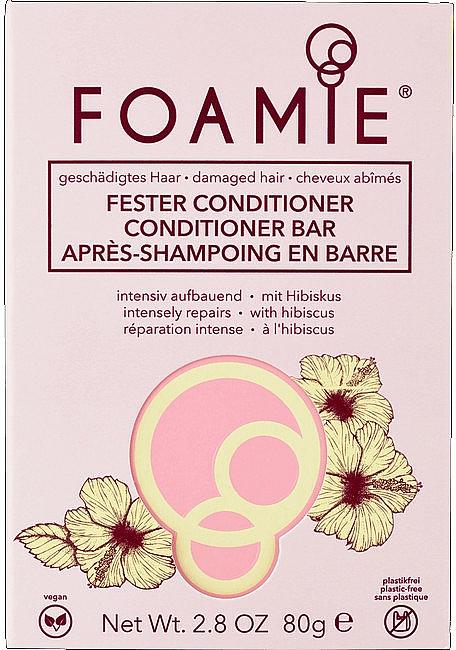 Tuhý kondicionér na vlasy - Foamie Hibiskiss Conditioner Bar — Obrázky N1