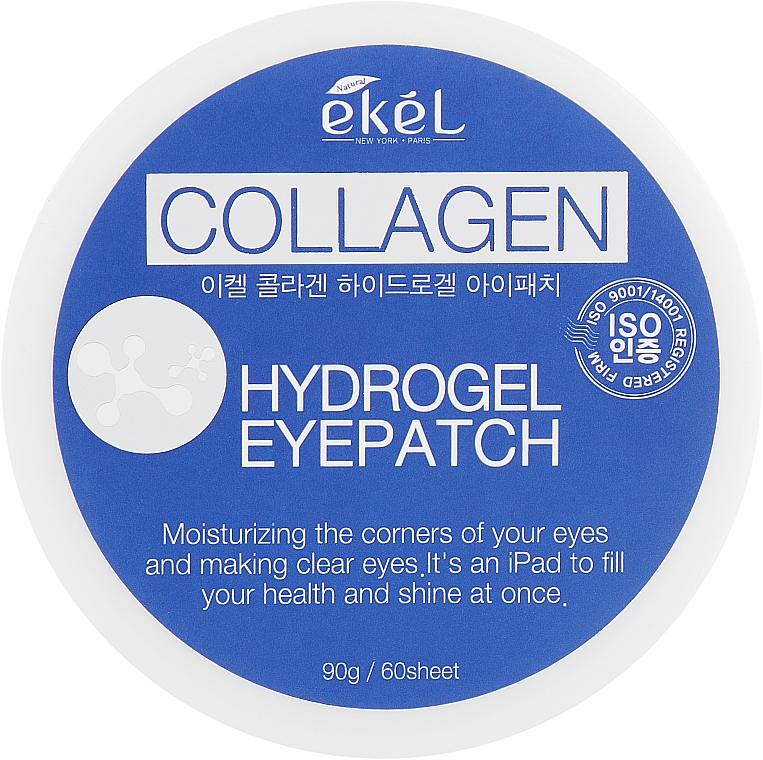 Hydrogélové náplasti na oči s kolagénom a extraktom z čučoriedok - Ekel Ample Hydrogel Eyepatch