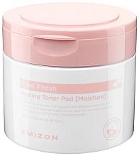 Voňavky, Parfémy, kozmetika Hydratačné peelingové vlhčené tampóny - Mizon Pore Fresh Peeling Toner Pad