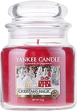 Voňavky, Parfémy, kozmetika Vonná sviečka v plechovke - Yankee Candle Christmas Magic