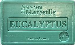 """Voňavky, Parfémy, kozmetika Mydlo """"Eukalyptus"""" - Le Chatelard 1802 Savon de Marseille Eucalyptus Soap"""