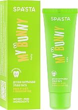 """Voňavky, Parfémy, kozmetika Detská prírodná zubná pasta """"Ochrana proti povlaku a komplexná starostlivosť"""" - Spasta My Bunny"""