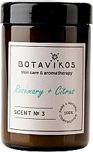 Voňavky, Parfémy, kozmetika Botavikos Rosemary&Citrus - Vonná sviečka