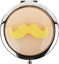"""Voňavky, Parfémy, kozmetika Kozmetické vreckové zrkadlo, 85697 """"Lusterko Kompaktowe"""", béžové - Top Choice"""