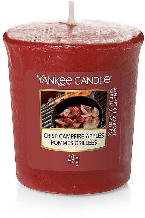 "Vonná sviečka ""Chrumkavé jablká pri ohni"" - Yankee Candle Crisp Campfire Apples — Obrázky N1"