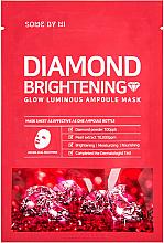 Voňavky, Parfémy, kozmetika Rozjasňujúca ampulka s diamantovým púdrom - Some By Mi Diamond Brightening Calming Glow Luminous Ampoule Mask