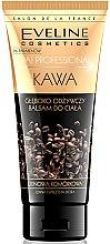 Voňavky, Parfémy, kozmetika Hĺbkovo výživný balzam na telo s vôňou kávy - Eveline Cosmetics Spa Professional