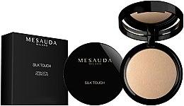 Voňavky, Parfémy, kozmetika Pečený púder na tvár v krabici - Mesauda Milano Silk Touch Powder