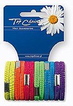 Voňavky, Parfémy, kozmetika Gumička do vlasov 12 ks, 22470 - Top Choice